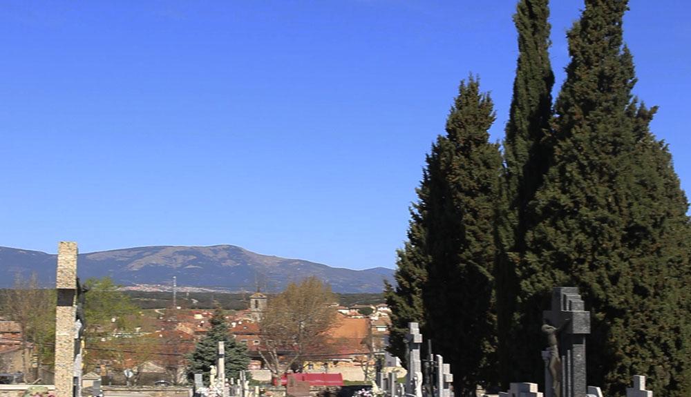 Vistas desde el cementerio de Valdemorillo