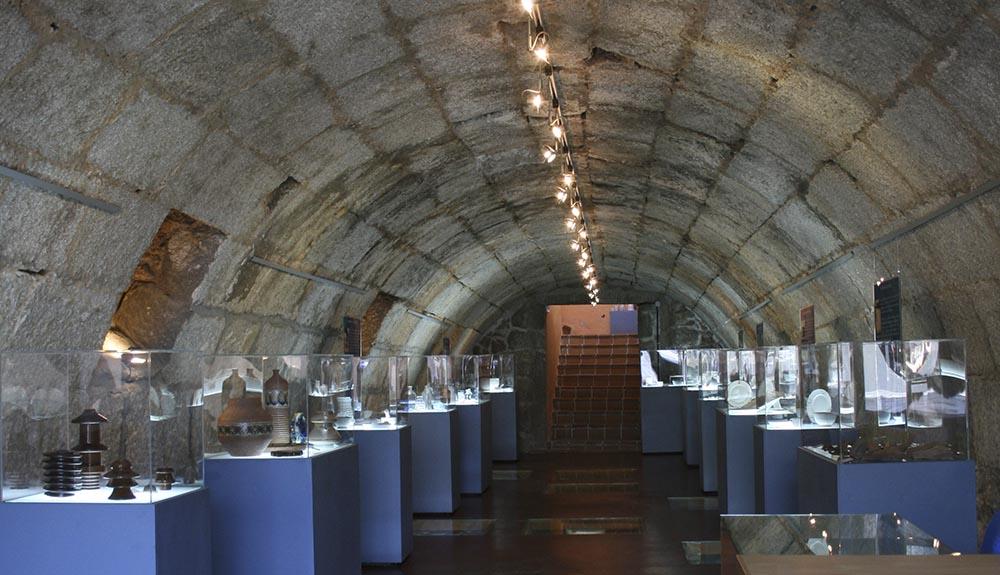 Interior CUMVAL Cueva museo Ruta de la piedra Valdemorillo