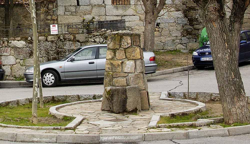 Fuente Plaza de Doña Ana de Palacios de Valdemorillo